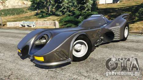 Batmobile 1989 [Beta] для GTA 5 вид справа