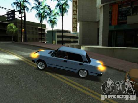 ВАЗ 2107-107 для GTA San Andreas салон