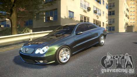 Mercedes CLK55 AMG Coupe 2003 для GTA 4
