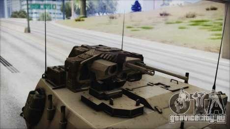 M4 Scorcher Self Propelled Artillery для GTA San Andreas вид справа