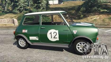 Mini Cooper S 1965 для GTA 5 вид слева
