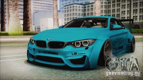 BMW M4 2014 Liberty Walk для GTA San Andreas