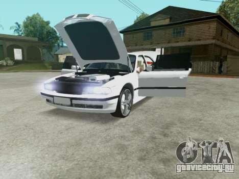 BMW 750i для GTA San Andreas вид изнутри