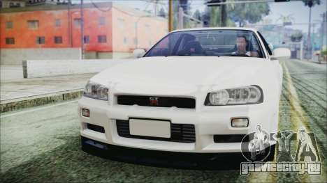 Nissan Skyline GT-R M-Spec Nür 1999 для GTA San Andreas