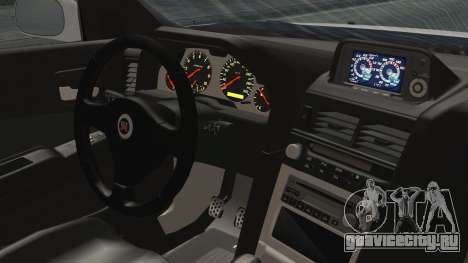 Nissan Skyline GT-R M-Spec Nür 1999 для GTA San Andreas вид сзади слева