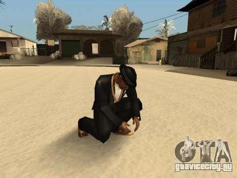 Метание снежка для GTA San Andreas второй скриншот