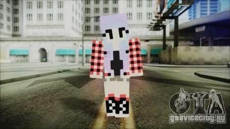 Minecraft Female Skin Edited для GTA San Andreas второй скриншот