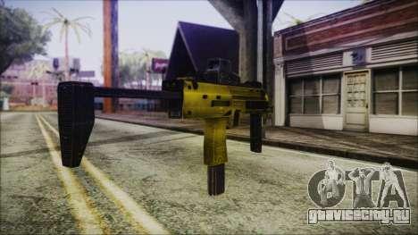 Point Blank MP7 Gold Special для GTA San Andreas второй скриншот