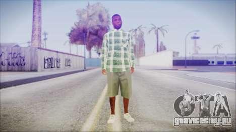 GTA 5 Grove Gang Member 2 для GTA San Andreas второй скриншот