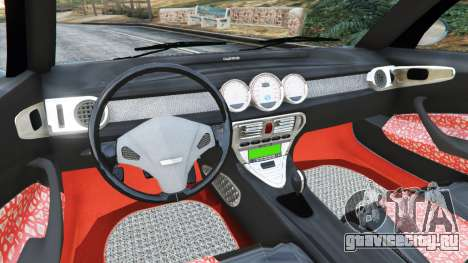 Daewoo Joyster Concept 1997 v1.2 для GTA 5 вид сзади справа