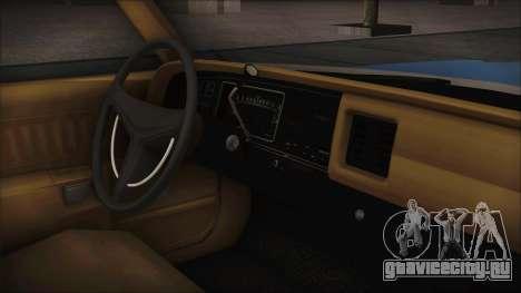 Dodge Monaco 1974 Civilian для GTA San Andreas вид сзади слева