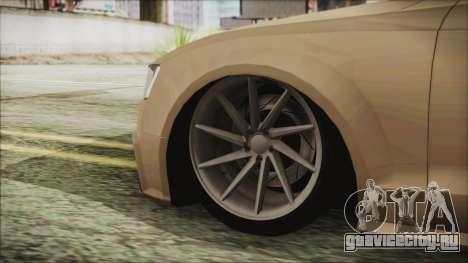 Audi RS5 для GTA San Andreas вид сзади слева