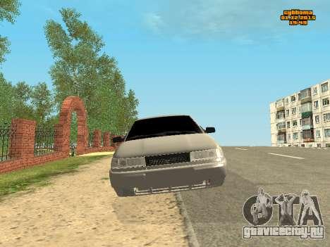 Ваз 2112 Бункер 0.1v для GTA San Andreas вид сзади