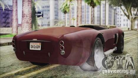 GTA 5 Declasse Mamba IVF для GTA San Andreas вид слева