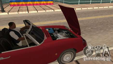 1966 Alfa Romeo Spider Duetto [IVF] для GTA San Andreas вид справа