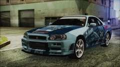 Nissan Skyline R34 Itasha