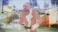 GTA 5 Santa Афроамериканец