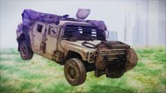Humvee from Spec Ops The Line для GTA San Andreas