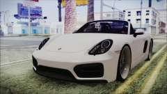 Porsche Boxster GTS 2016 для GTA San Andreas