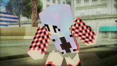 Minecraft Female Skin Edited для GTA San Andreas