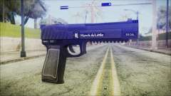 GTA 5 Pistol .50 v2 - Misterix 4 Weapons для GTA San Andreas