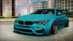 BMW M4 2014 Liberty Walk для GTA San Andreas