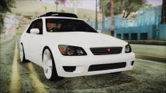 Toyota Altezza 2004 Full Tunable HQ для GTA San Andreas