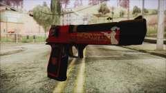 Xmas Desert Eagle для GTA San Andreas