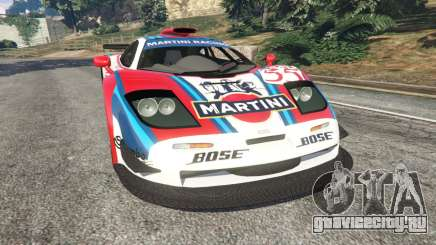 McLaren F1 GTR Longtail [Martini Racing] для GTA 5