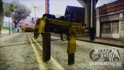 Point Blank MP7 Gold Special для GTA San Andreas