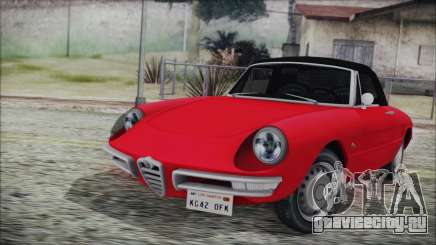 Alfa Romeo Spider Duetto 1966 для GTA San Andreas