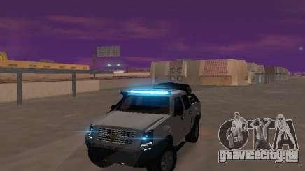 Chevrolet LUV D-MAX 2014 OffRoad (IVF) для GTA San Andreas