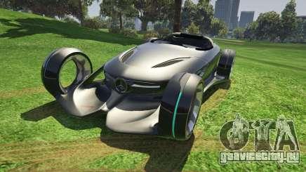 Mercedes-Benz Silver Lightning - Add-on для GTA 5
