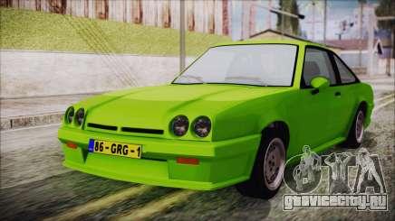 Opel Manta New Kids HQ для GTA San Andreas
