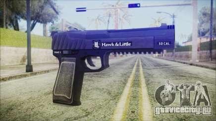 GTA 5 Pistol .50 v2 - Misterix 4 Weapons для GTA San Andreas
