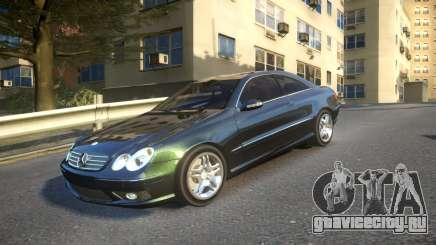 Mercedes CLK55 AMG Coupe 2003 для GTA 4