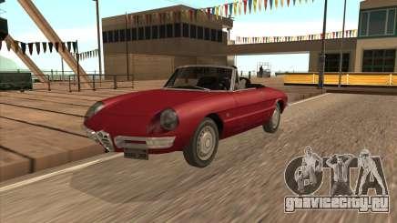 1966 Alfa Romeo Spider Duetto [IVF] для GTA San Andreas