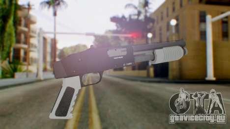 GTA 5 Sawed-Off Shotgun - Misterix 4 Weapons для GTA San Andreas второй скриншот