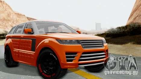 GTA 5 Gallivanter Baller LE Arm IVF для GTA San Andreas