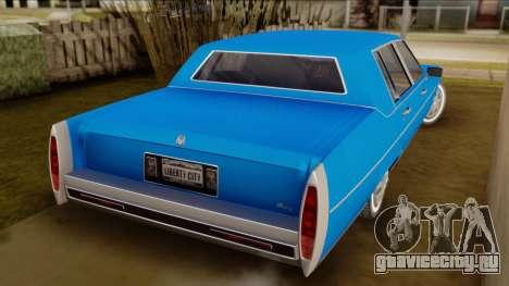 GTA 4 Albany Emperor для GTA San Andreas вид слева