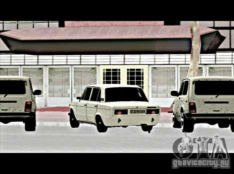 Ваз 2106 [ARM] для GTA San Andreas вид слева