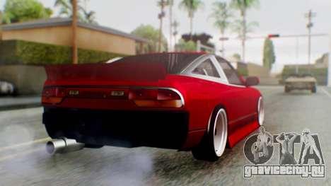 Nissan 240SX Drift v2 для GTA San Andreas вид слева
