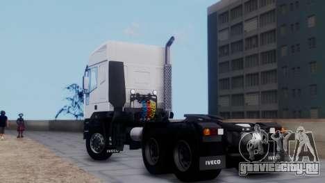 Iveco EuroTech v2.0 для GTA San Andreas вид слева