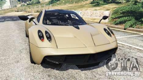 Pagani Huayra 2013 v1.1 [black rims] для GTA 5