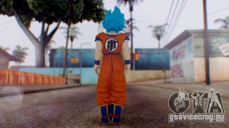 Goku SSJ God Blue (SSGSS) для GTA San Andreas третий скриншот