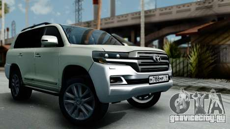 Toyota Land Cruiser 200 2016 Bulkin Edition для GTA San Andreas