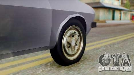 Dacia 1310 v2 для GTA San Andreas вид сзади слева