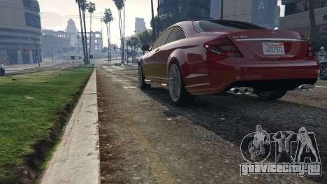 Mercedes-Benz E63 AMG v2.1 для GTA 5 вид сзади