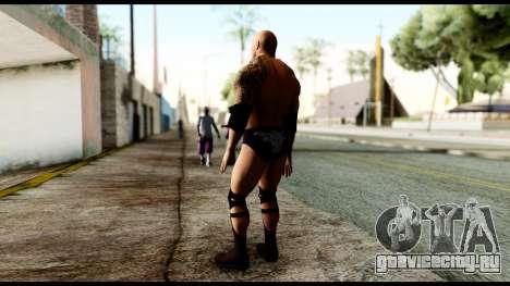 WWE The Rock для GTA San Andreas третий скриншот