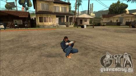 Дополнительная анимация TEC-9 для GTA San Andreas третий скриншот